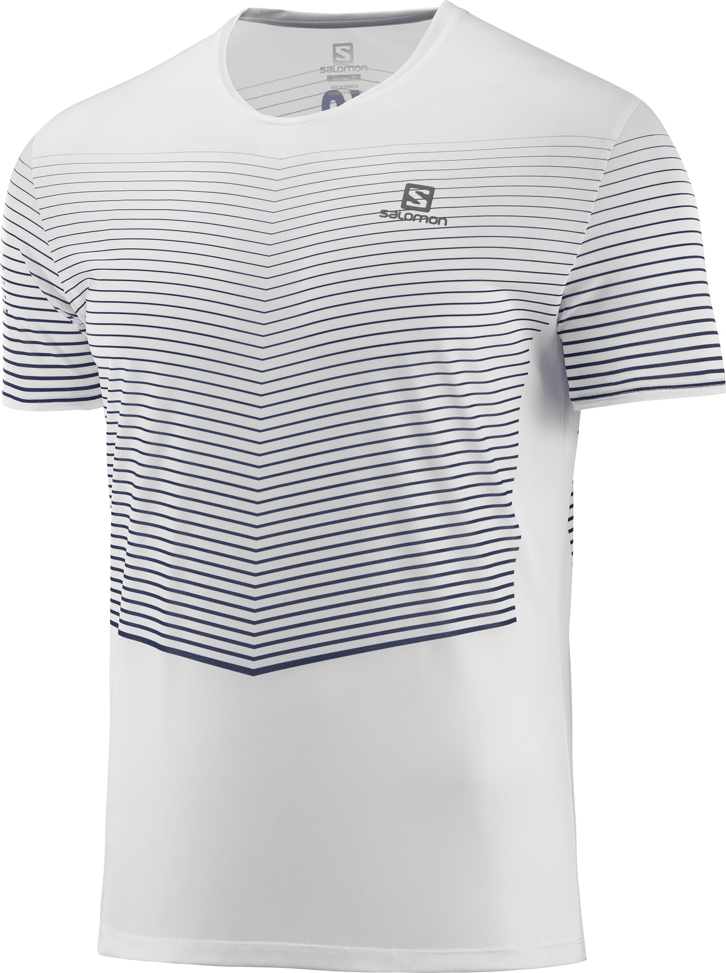 Salomon Sense T shirt Herrer, white